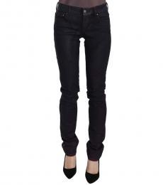 Just Cavalli Black Low Waist Skinny Denim Jeans