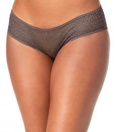 DKNY Grey Modern Lace Hipster Underwear
