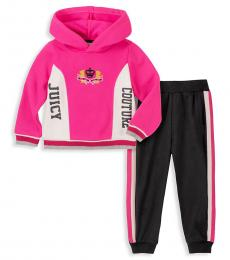 Juicy Couture 2 Piece Hoodie/Pants Set (Baby Girls)