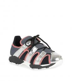 Marni Multicolor Leather Fabric Sneakers