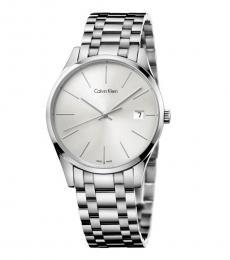 Silver Modish Watch