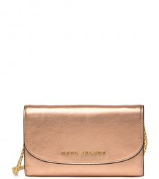 Marc Jacobs Rose Gold Avenue Mini Crossbody