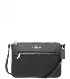 Coach Black Gallery Medium Crossbody
