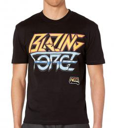 McQ Alexander McQueen Black Blazing Force T-Shirt