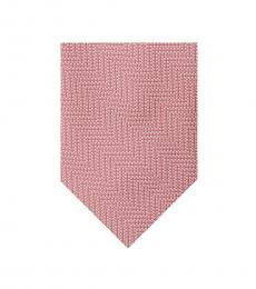 Michael Kors Pink Digital Tonal Chevron Tie