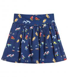 Stella McCartney Little Girls Blue Claudette Skirt