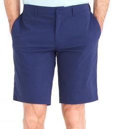 Navy Blue Rivington Tech Shorts