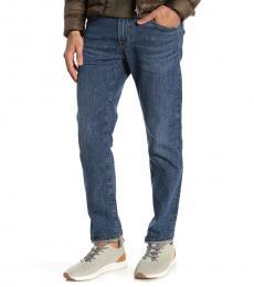 AG Adriano Goldschmied Dark Blue Tellis Modern Slim Fit Jeans