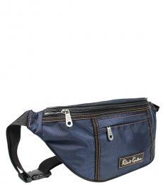 Robert Graham Navy Hackman Convertible Waist Bag