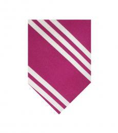 Ralph Lauren Raspberry Neat  Silk Tie