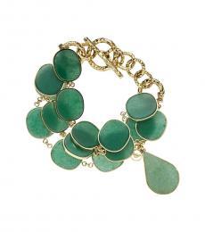 Green Decorative Bracelet