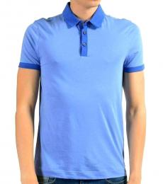 Hugo Boss Blue Slim Fit Solid Polo