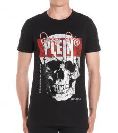 Black Studded Skull T-Shirt