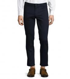 Michael Kors Midnight Multi Parker Slim-Fit-Twill Pants