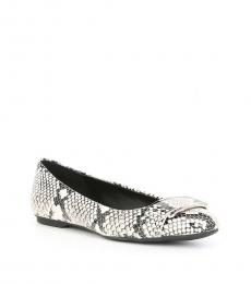 Snake Print Oneta Ballet Flats