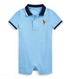 Ralph Lauren Baby Boys Blue Lagoon Polo Shortall