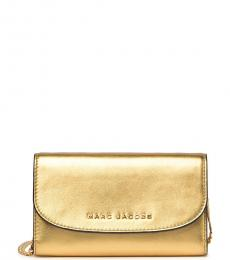 Marc Jacobs Gold Avenue Mini Crossbody