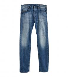 Diesel Blue Buster Faded Jeans