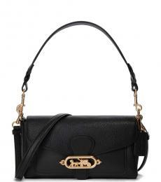 Coach Black Jade Medium Shoulder Bag
