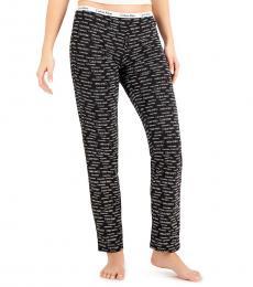 Calvin Klein Black Logo Band Pajama Pants
