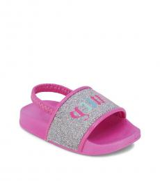 Juicy Couture Baby Girls Pink Moreno Valley Slippers