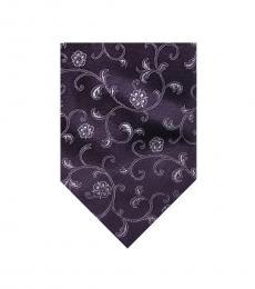 Valentino Garavani Purple Modish Tie