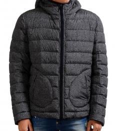 Dark Grey Reversible Hooded Jacket