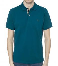 Regata Blue Classic Fit Polo