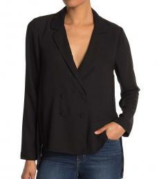 BCBGMaxazria Black Double Breasted  Jacket