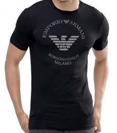 Emporio Armani Black Slim Fit T-Shirt