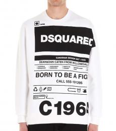 Dsquared2 White Logo Sweatshirt