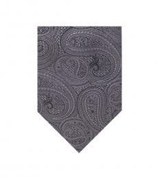 Michael Kors Granite Rich Texture Paisley Tie
