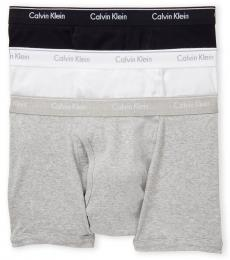 Multicolor 3-Pack Cotton Trunks