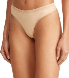 Calvin Klein Beige Two-Pack Constant Thong
