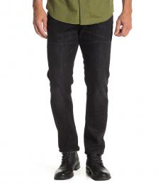 Black Athletic Fit Jeans