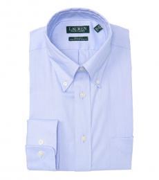 Ralph Lauren Light Blue Regular Fit Dress Shirt