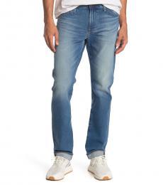 Blue Everett Slim Straight Jeans