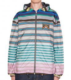 Multi Color Reversible K-Way Jacket