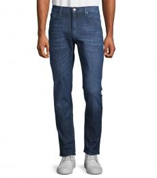 Michael Kors Cameron Blue Parker Slim-Fit Jeans