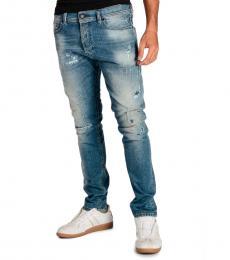 Blue Stretch Tepphar Jeans