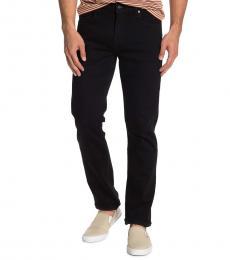 7 For All Mankind Black Slimmy Slim Jeans