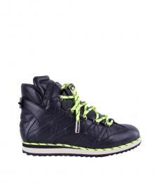 Dolce & Gabbana Black Classic High Sneakers