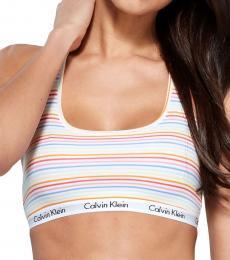 Calvin Klein Multi color Graphic Bralette