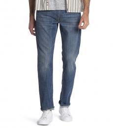 Lucky Brand Blue Heritage Slim Leg Jeans