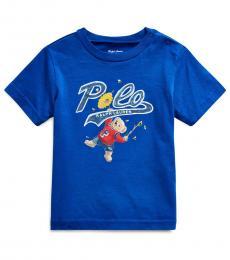 Ralph Lauren Baby Boys Rugby Royal Polo Bear T-Shirt