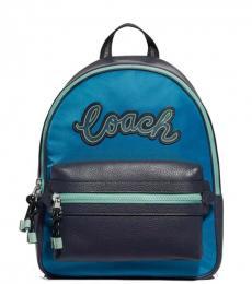 Coach Cerulean Vale Charlie Medium Backpack