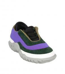 Marni Multicolor Fabric Sneakers