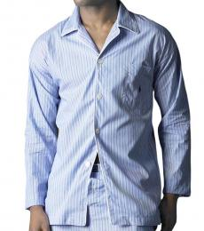 Ralph Lauren Andrew Striped Woven Pajama Shirt
