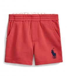 Ralph Lauren Baby Boys Red Big Pony Shorts