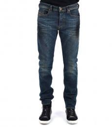 Diesel Dark Blue Stretch Buster Jeans